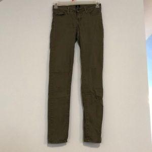 Just Black Olive-colored Jeans